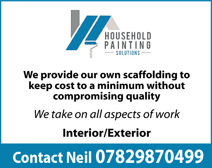 We provide our own scaffolding to keep cost to a minimum without compromising quality  We take on all aspects of work Interior/Exterior  Contact Neil 07829870499